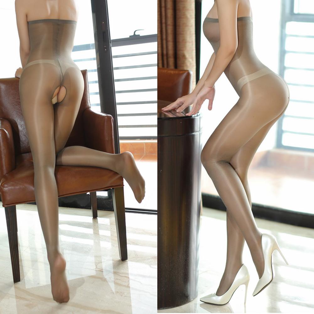 Women/'s Body Strapless Sheer Pantyhose Lingerie