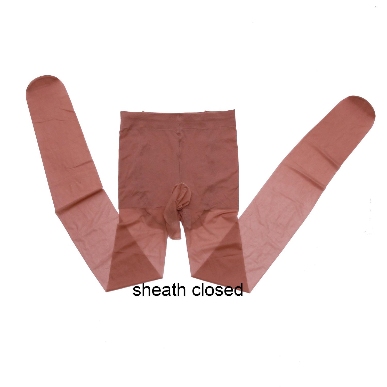 pantyhose with sheath