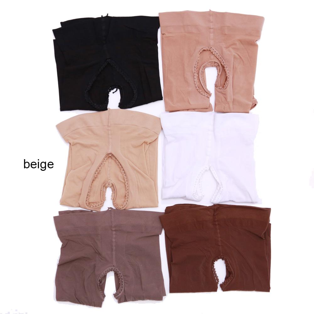 Elsayx Men Women Unisex Shiny Tights Pantyhose