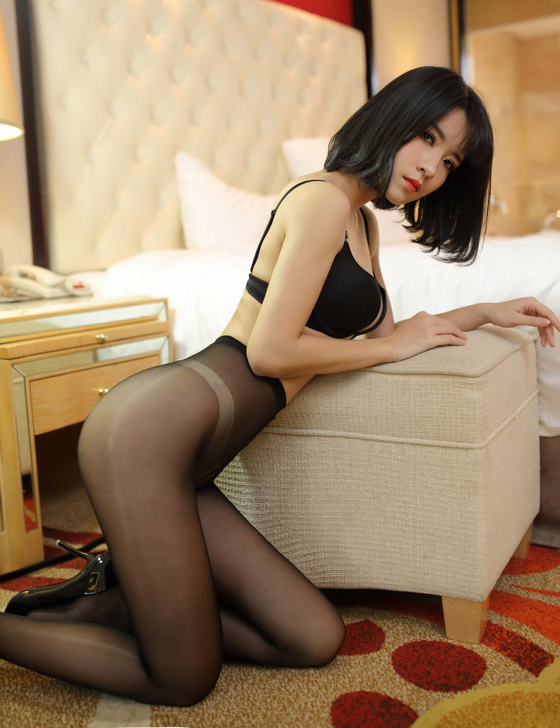 In Shiny Pantyhose Or 70