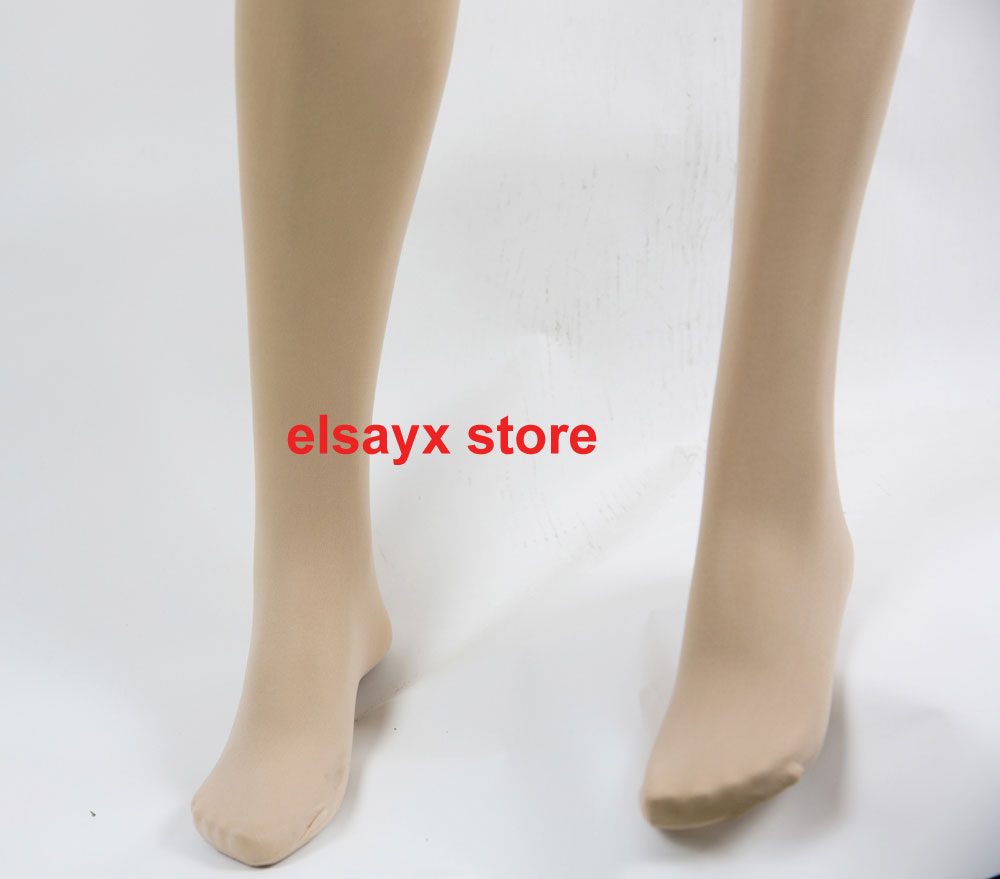Women-Design-Body-Pantyhose-Lingerie-Crotch-Open-with-Feet