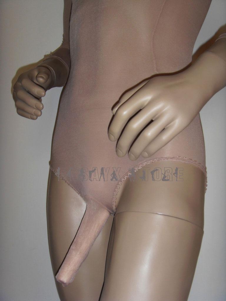 Swimwear-Nylon-Pantyhose-Lingerie-Crotch-Close-Sheath-Close-For-Men
