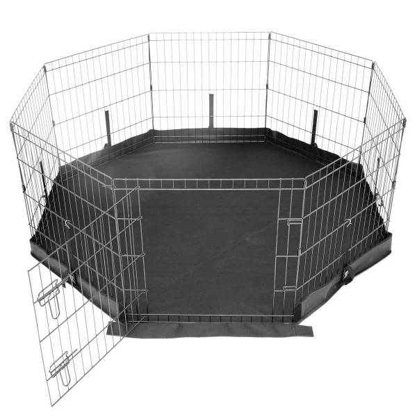 how to set up a playpen