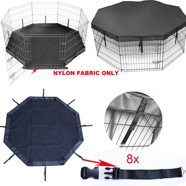 EASY TO CLEAN Cover For Indoor Outdoor Dog Rabbit Play Pen Enclosure EBay